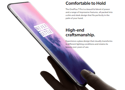 Disable Lift To Wake And Touch To Wake on oneplus 7 pro