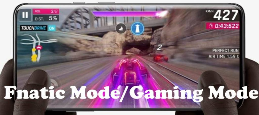 Enable or Turn on Gaming mode on OnePlus 7 Pro and OnePlus 7 Fnatic Mode