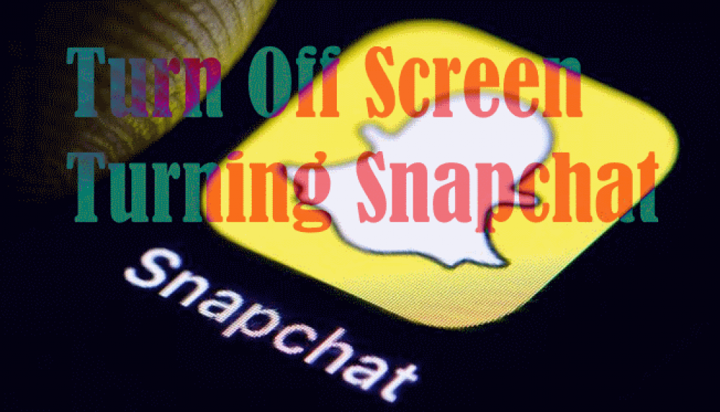 Disable Snapchat Automatically Turing Screen On Android Mobile