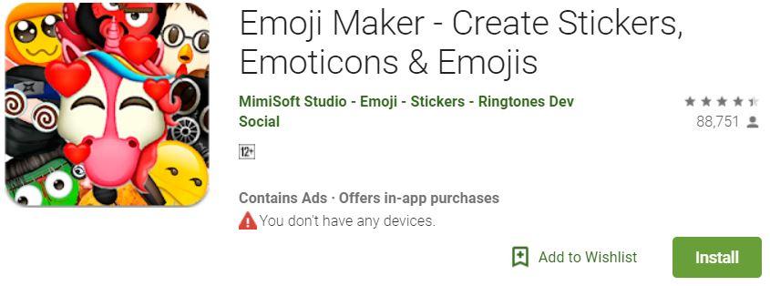 Emoji Maker for Android