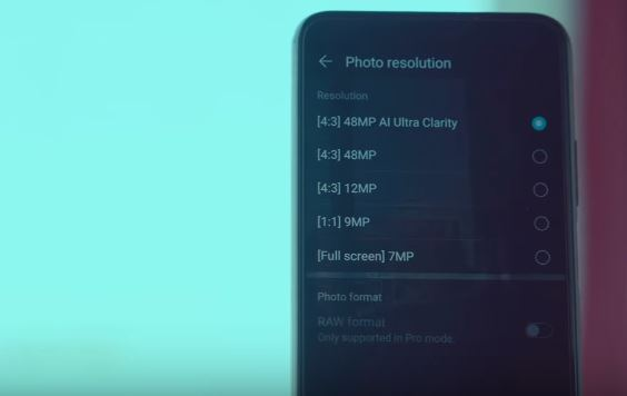 Change Camera Photo Resolution on Honor 20 android mobile