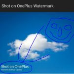Change or Turn off Shot on Watermark on OnePlus 7 Pro and onePlus 7 photo