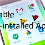 Disable Pre installed apps on android mobile