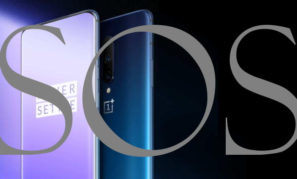 Setup or Enable Emergency SOS On OnePlus 7 Pro and OnePlus 7