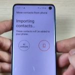 Import SIM Contact to Phone memory on Galaxy