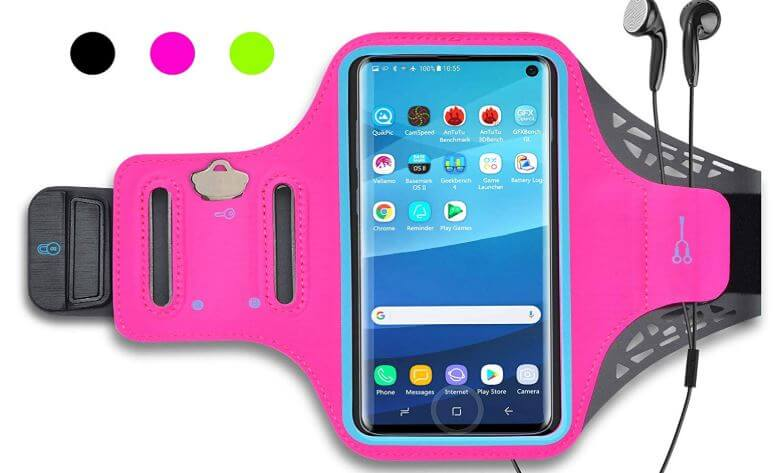 Armbang with Pocket and Protective Cover for Galaxy Note 10 and Note 10 Plus