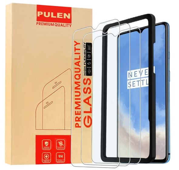 PULEN for OnePlus 7T Screen Protector Tempered Glass