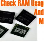 Check RAM Usage on Android Mobile