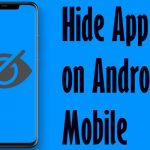 Hide app on android mobile without app