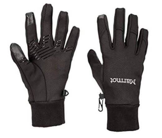 Marmot Womens for Touch Screen hand Gloves