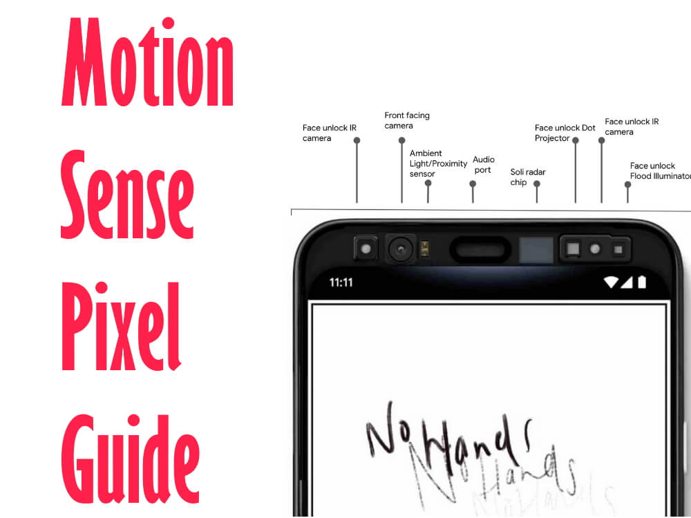 Motion Sense On Pixel 4 enable disable issues or Supported Countries and Apps