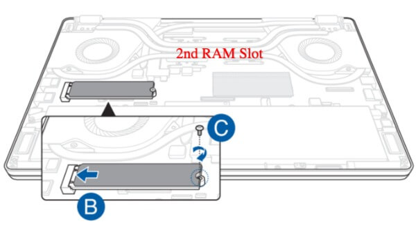 Remove Second RAM on ASUS ROG