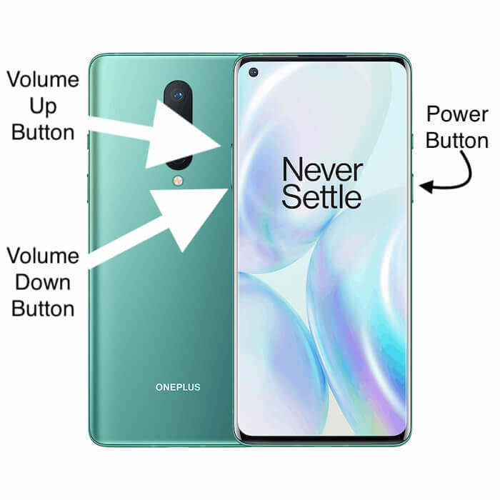 Side buttons on OnePlus 8 and OnePlus 8 Pro android mobile