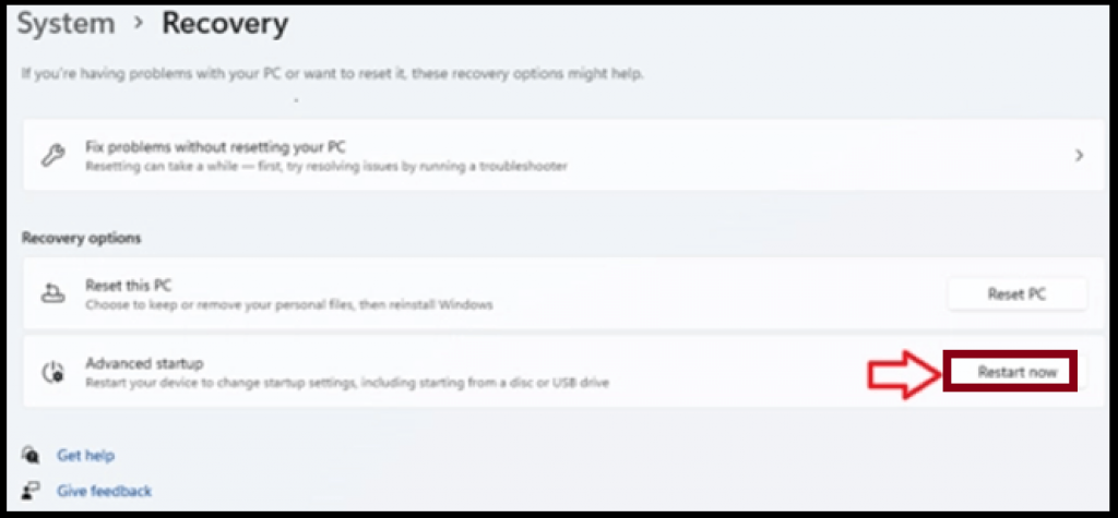 How to Boot in Safe Mode using settings 2