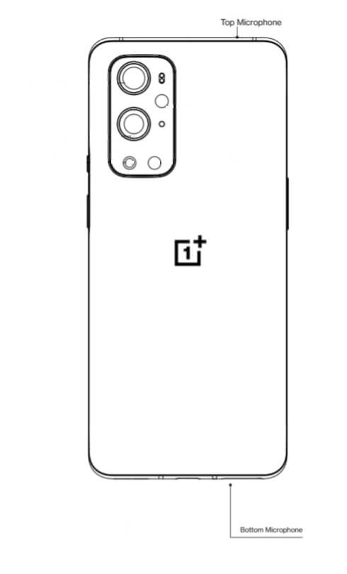 OnePlus top and bottom microphone