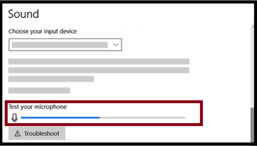 test your microphone on windows pc