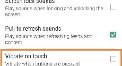 Disable Vibrate on Touch HTC screen or Button Pressed