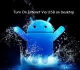 How to turn on internet on PC using Android Hotspot via USB