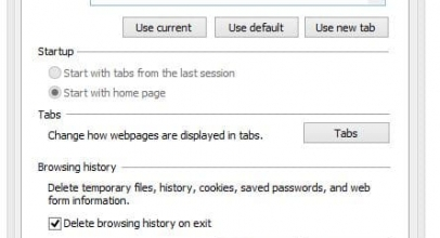 How to auto Delete browsing history or Clear Cache on Chrome, IE on Close