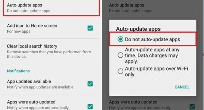 Enable/ Disable auto update app in android play store: OnePlus, Samsung Galaxy, Google Pixel