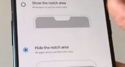How to Hide and Show Notch on OnePlus 6: Notch Settings