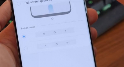 Change Home button, Back Swipe Gesture on Samsung Galaxy S10 Plus, Galaxy S10, S10e