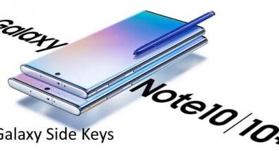How to Customize Side Keys [Volume Key, Side Key] on Galaxy Note 10 and Note 10 Plus