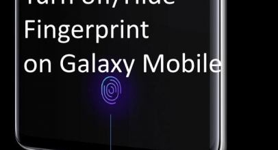 How To Disable/Enable Fingerprint Icon On Lock Screen On Galaxy S10 Plus/ Galaxy S10