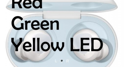 How to know Galaxy Buds Charging Status and Percentage from Green, Red & Yellow light