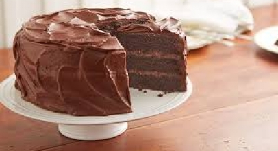 Yummiest Chocolate cake for the new year eve.