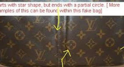 Eplica Louis Vuitton identification: plastic around handles, metals, pattern: Part 4